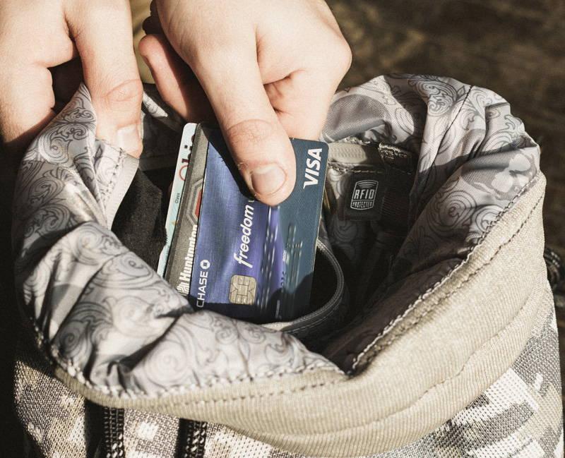 RFID Blocking Backpack
