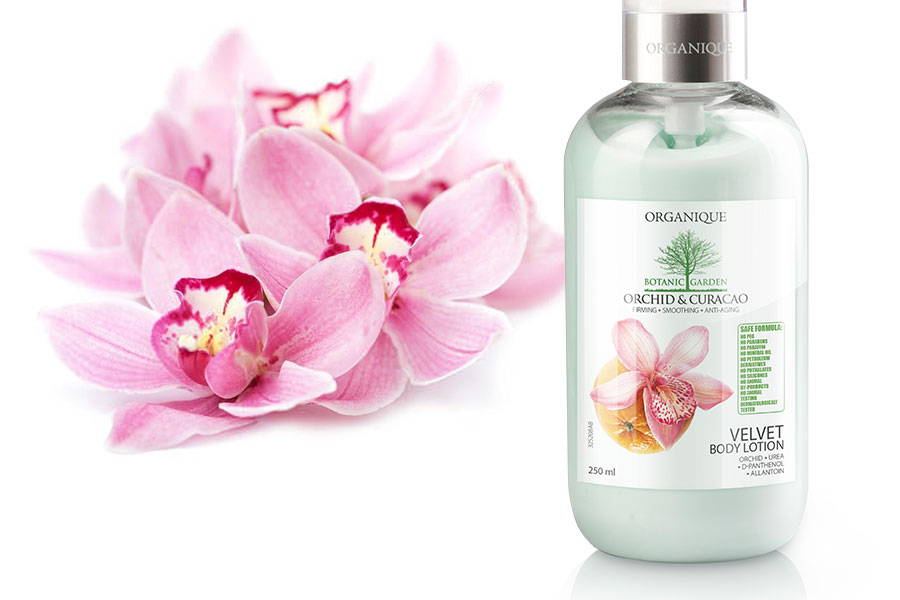 Firming And Ani Ageing Body Lotion With Orchid and Curacao