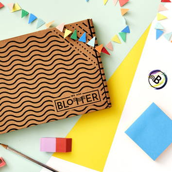 We Are Blotter's Greeting card monthly subscription Box