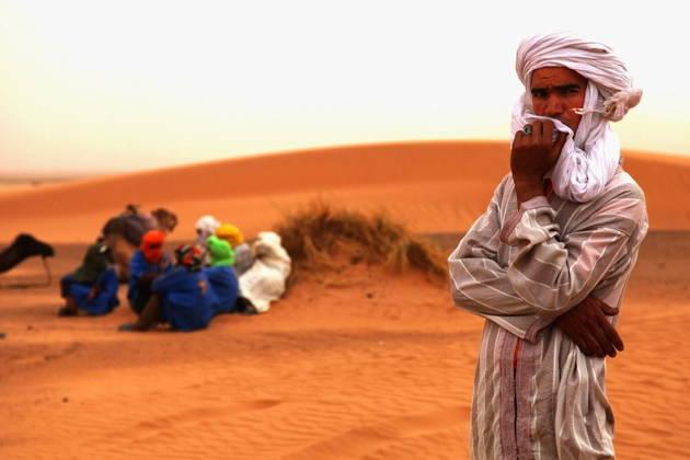 Незабываемая ночь в сахаре ( Марракеш-Загора)