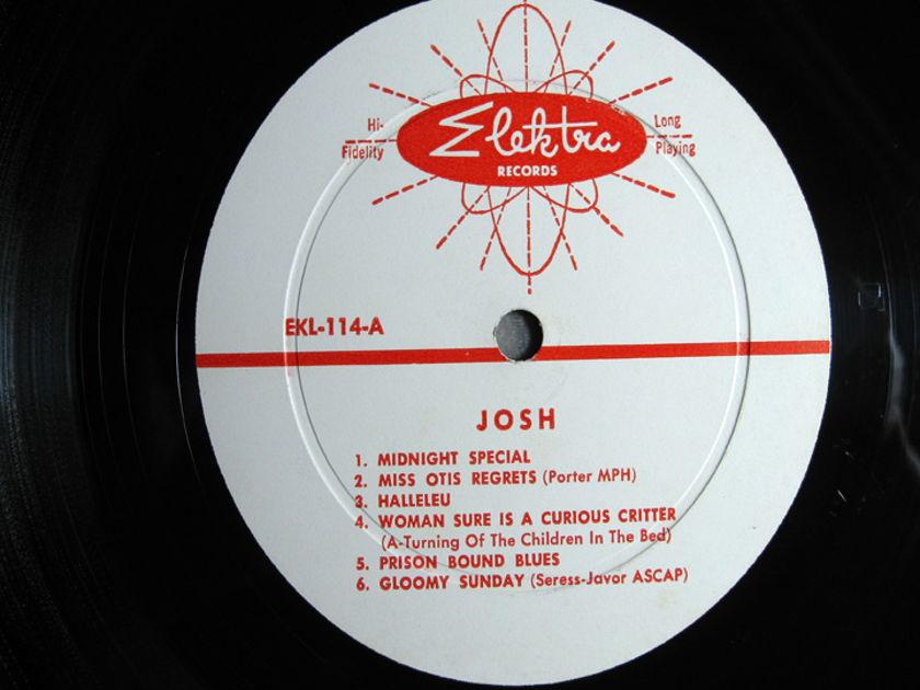 Josh White - Sings Ballads – Blues - 1957 Mono Original Elektra Records 114