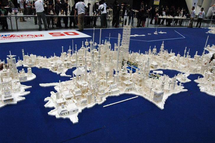 Scale model of Japan