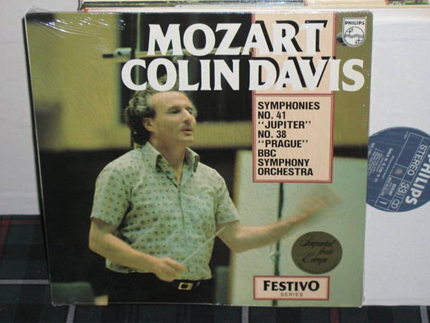 Davis/BBSCO - Mozart 41/38 Philips Import pressing 6570