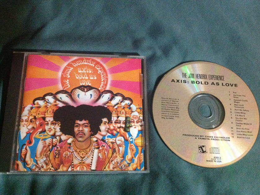 Jimi Hendrix - Axis:Bold As Love CD NM