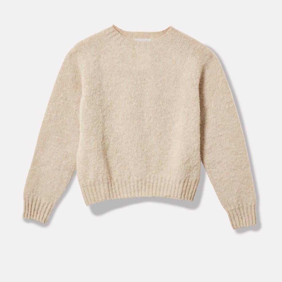 Sweater in Cream