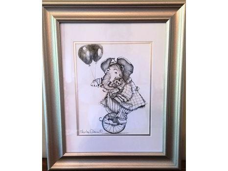 """Shirley Doiron """"Balloon Parade - Elephant"""""""