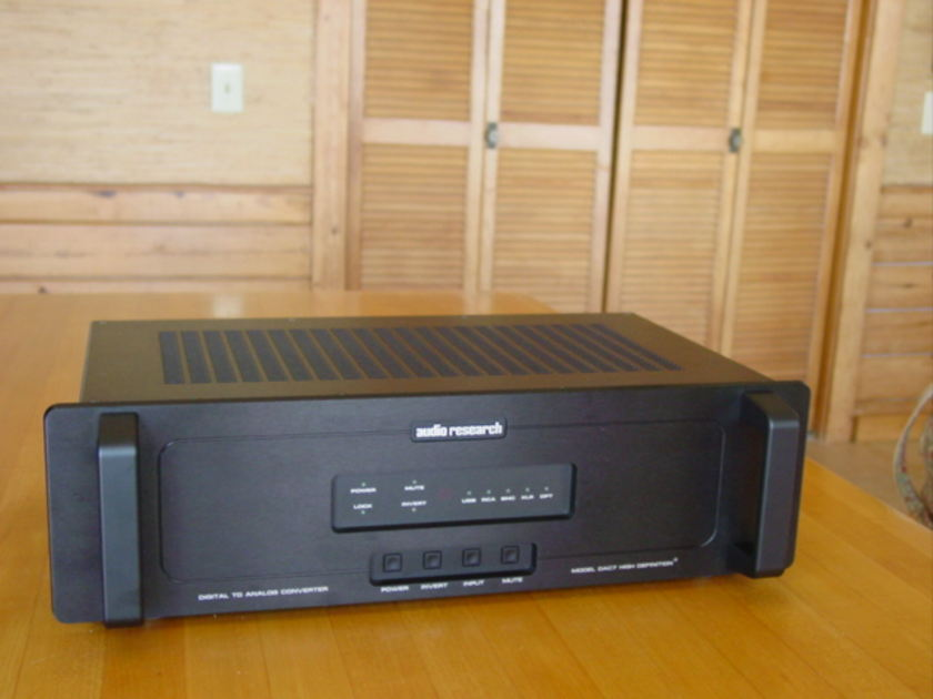 Audio Research DAC-7 Price Includes Shipping & Fees