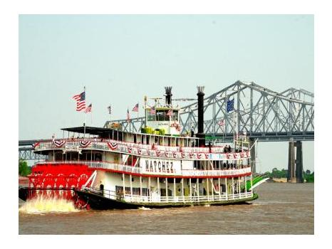 Gift Card Tour from the New Orleans Steamboat Co.