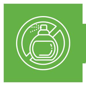 no artificial fragrance icon
