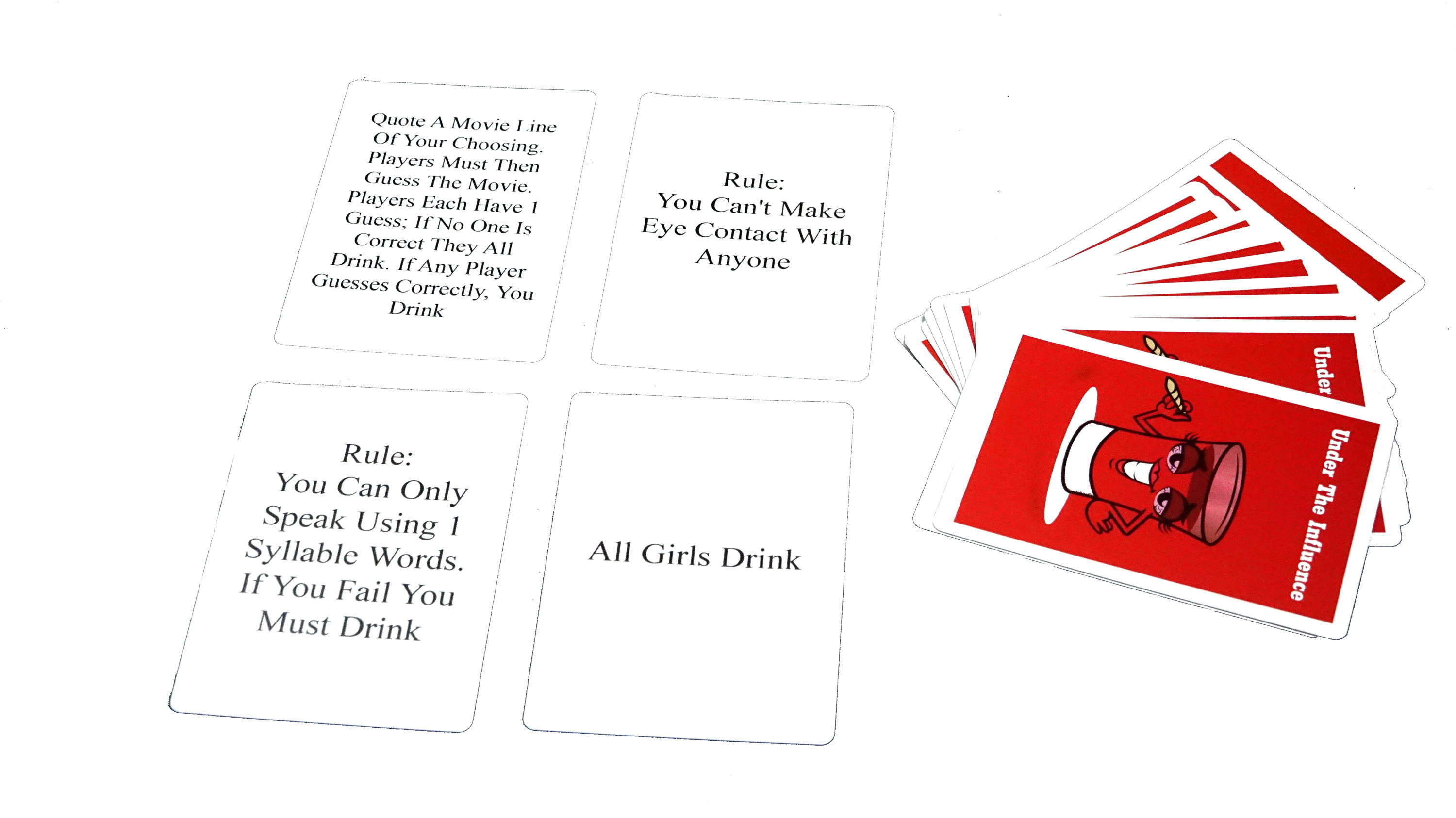 card game, drink