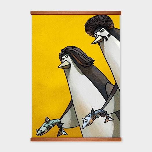 Постер «Пингвины» от Oh So Me (серия Home)