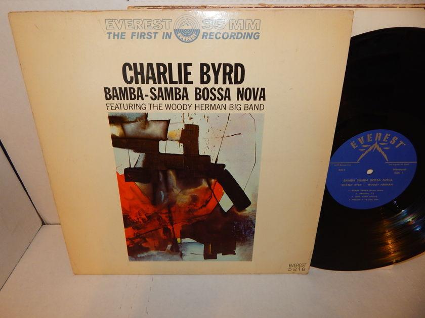 CHARLIE BYRD - WOODY HERMAN - Bamba Samba Bossa Nova  Evererst 35MM Mono LP