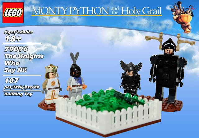 LEGO Monty Python and the Holy Grail Set