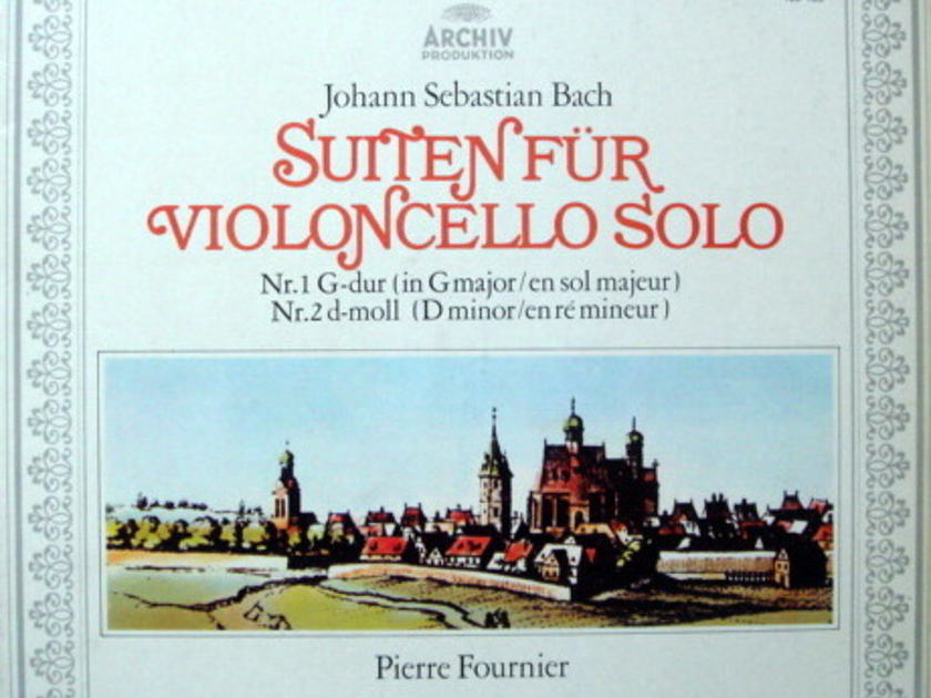 Archiv / FOURNIER, - Bach Suites for Cello Solo No.1 & 2, MINT!