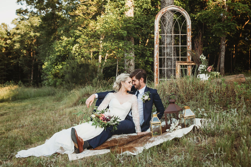 Rustic and Romantic Elopement