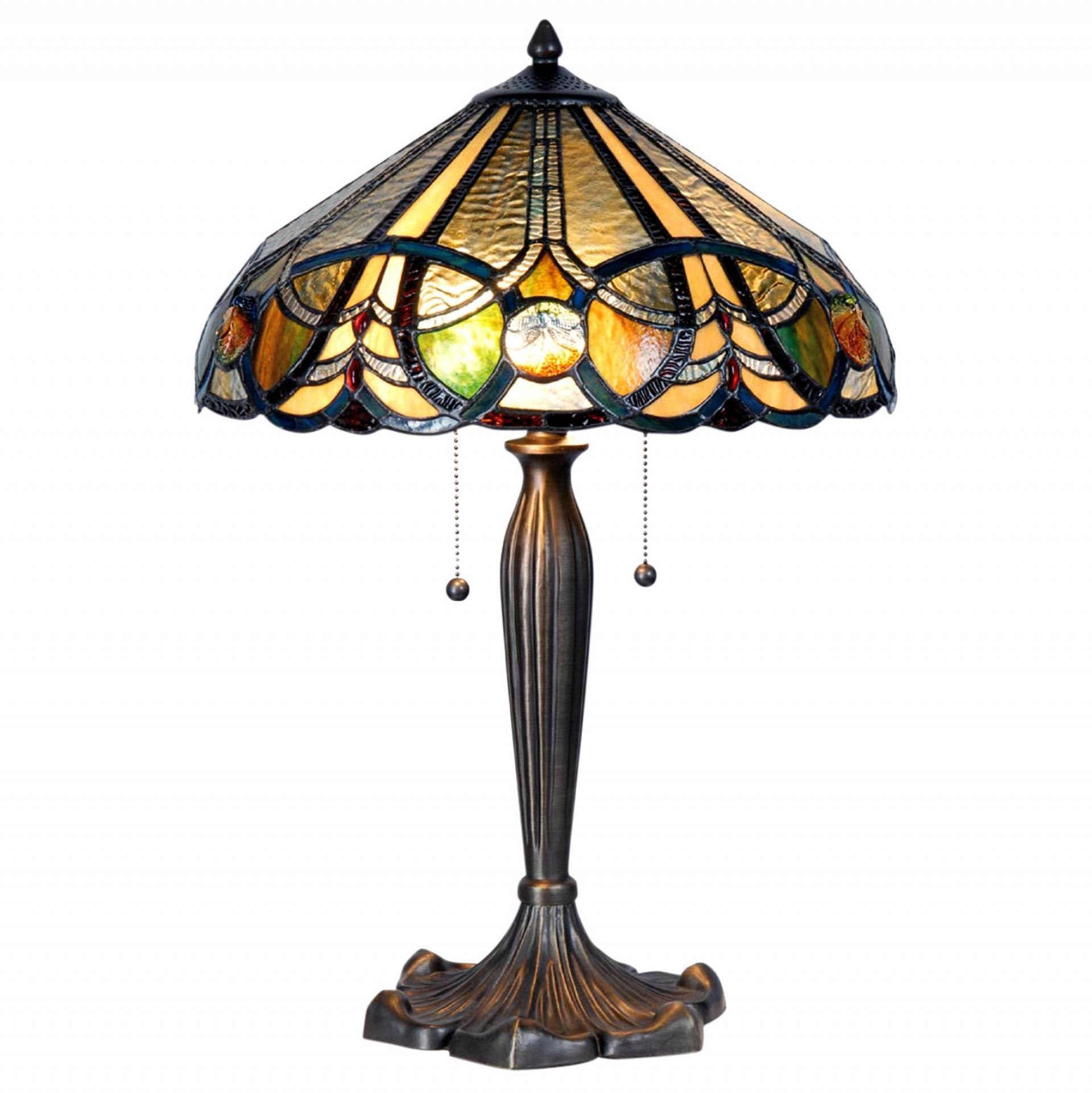 Nagy asztali Tiffany lámpák