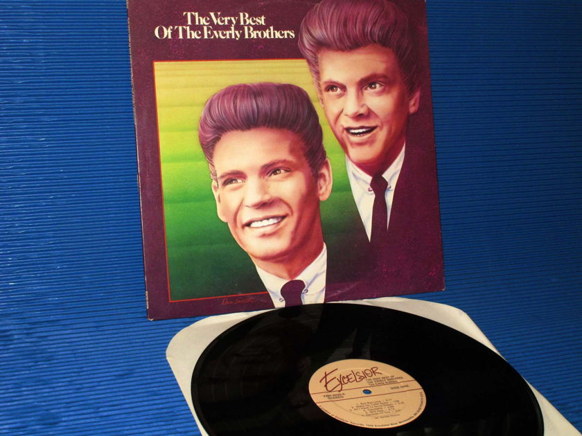 """THE EVERLY BROTHERS   - """"The Very Best of the Everly Brothers"""" - Excelsior 1981"""