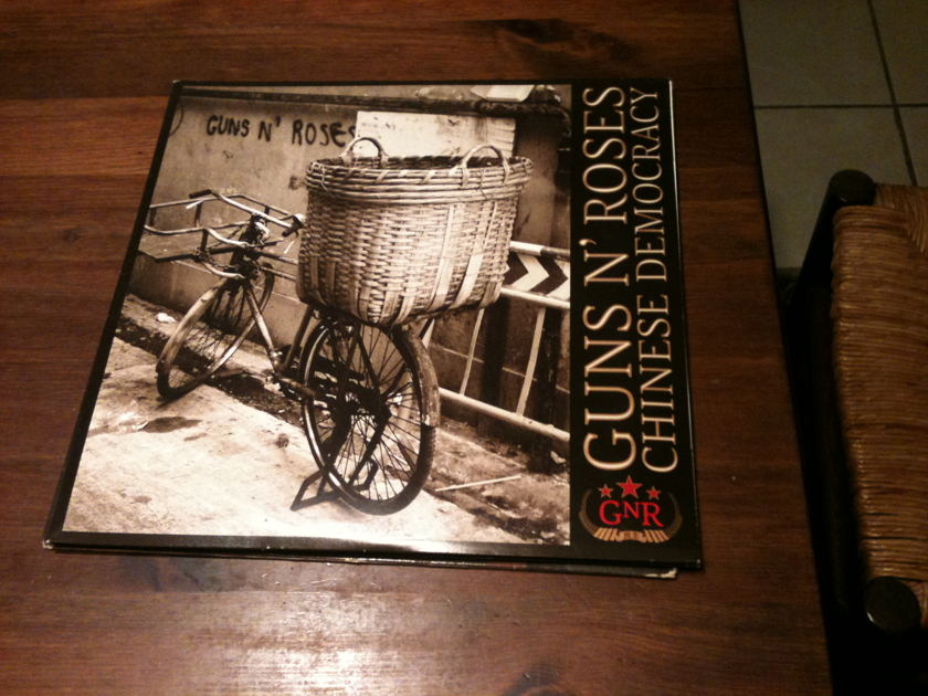 Guns and Roses - Chinese Democracy 180g vinyl - new