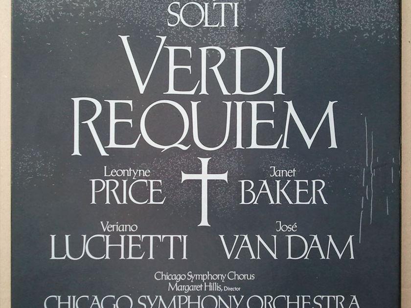 German RCA/Solti/Verdi - Requiem / 2-LP Box Set / NM