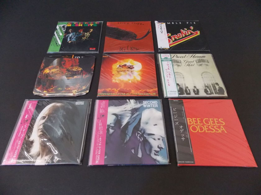CLASSIC ROCK - MINI LP CD COLLECTION NEW AND SEALED
