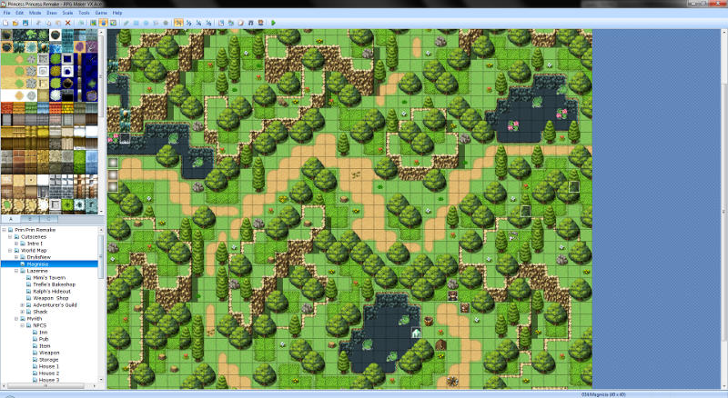 RPG Maker - What are the best code-free 2D game engines for