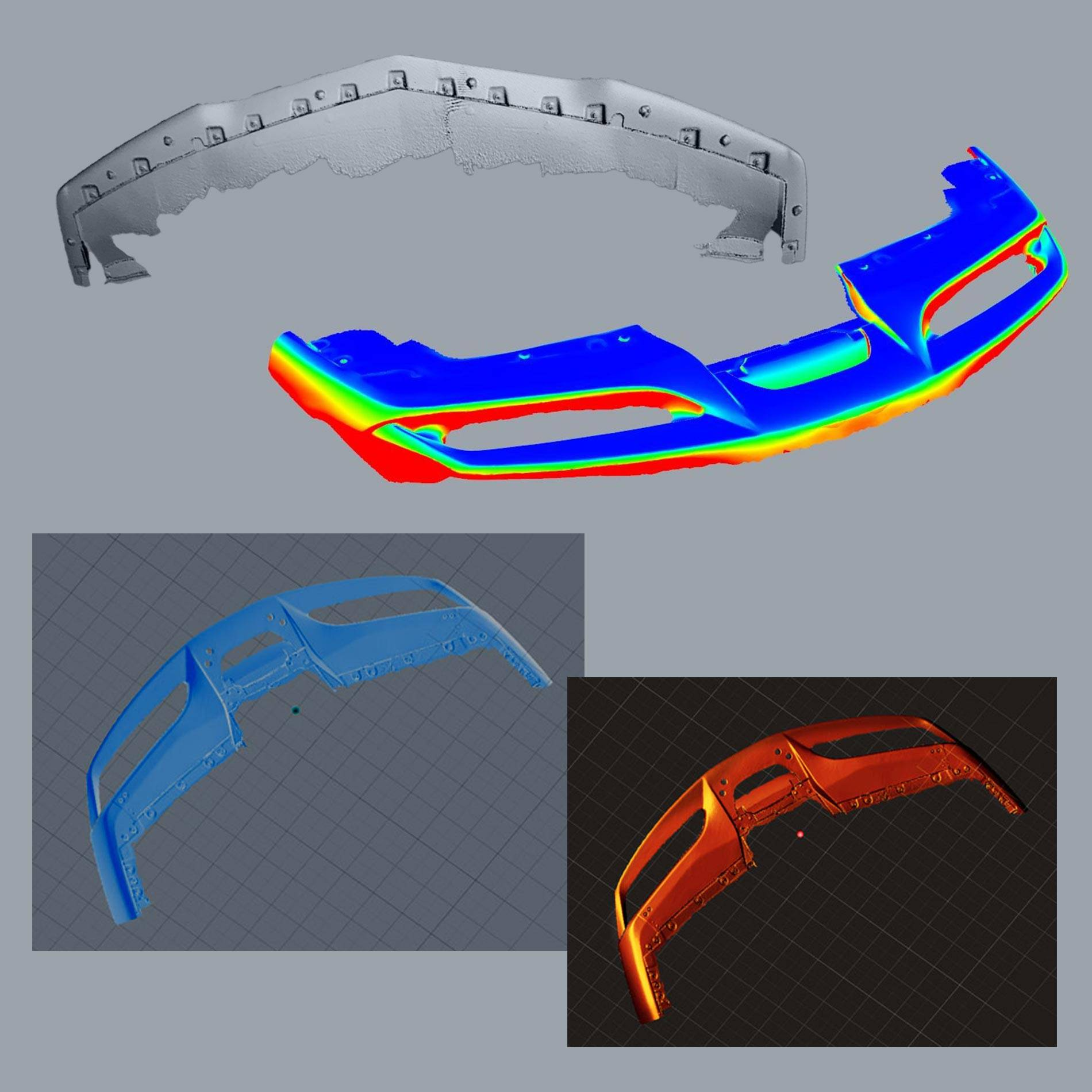 Scrape Armor laser measured 3D scanned precision fit.