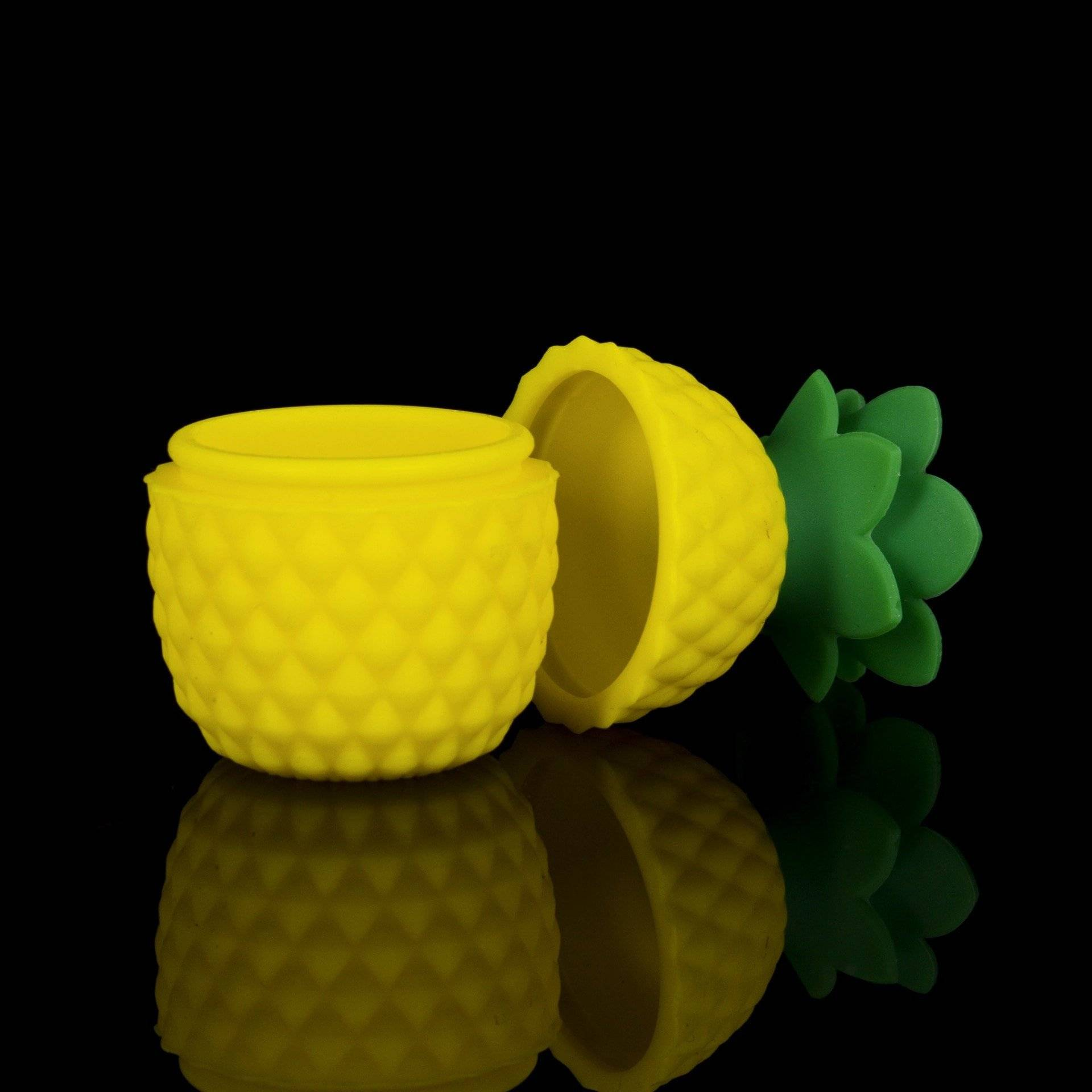 Pineapple Silicone Wax Container