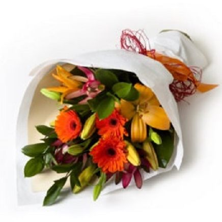 Hand Tied Mixed Bouquet