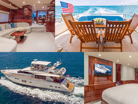 Private Luxury Yacht Cruise for 10 on the 75' Viking Princess