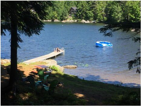Waterfront Home in Dedham, Maine (3 nights for 4-10 people)