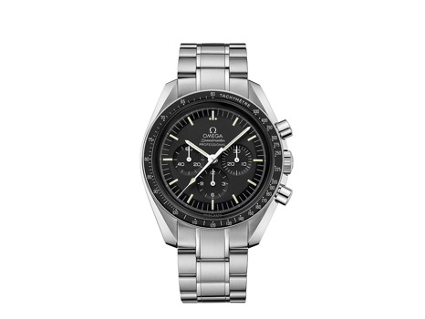 ICONIC OMEGA SPEEDMASTER MOONWATCH SIGNED BY BUZZ ALDRIN