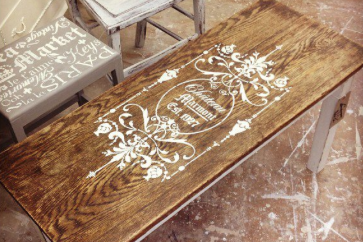 Furniture Painting & Stencil Workshop