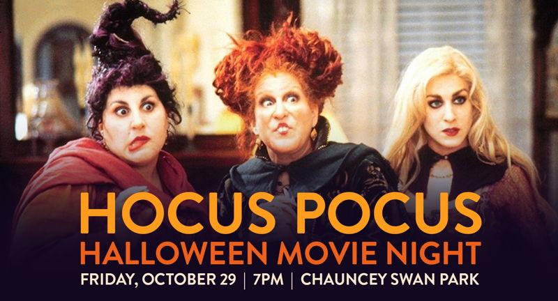 Hocus Pocus at FilmScene in the Park