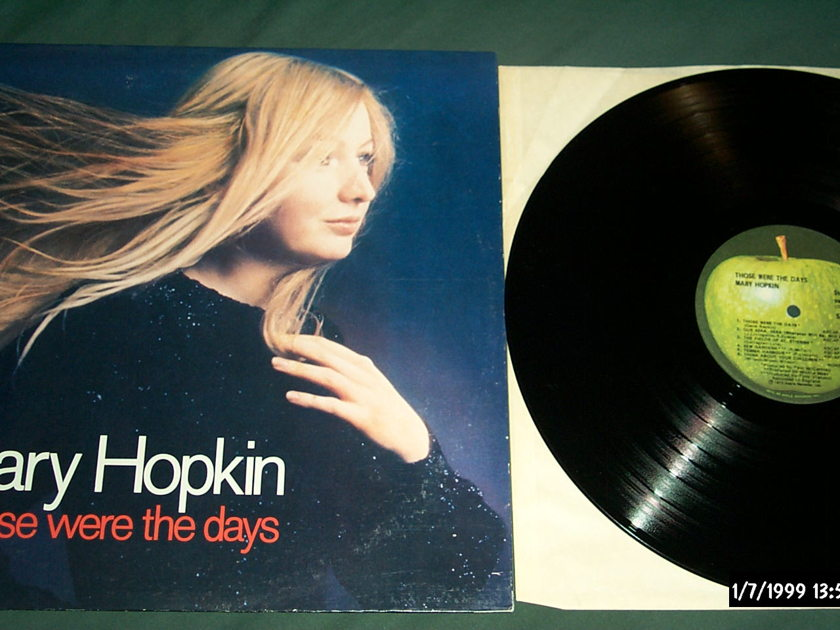 Mary Hopkin - Those Were The Days Apple Records LP NM