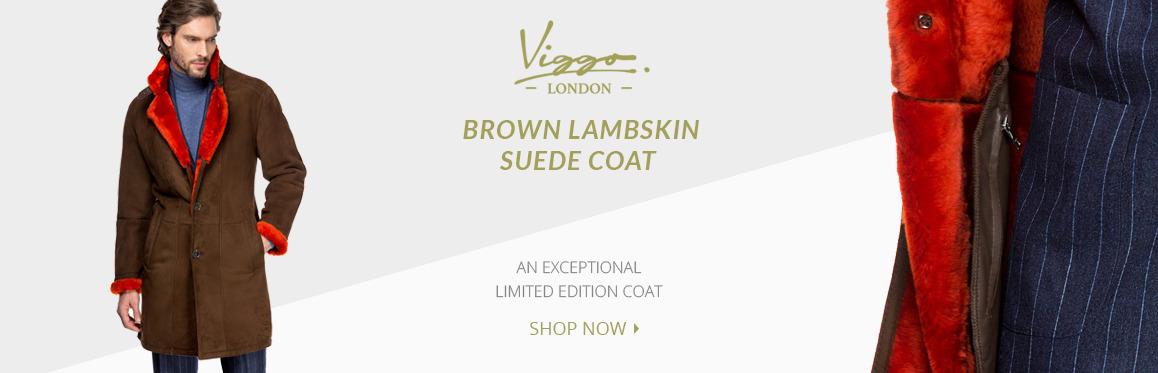 Lambskin Suede Coat