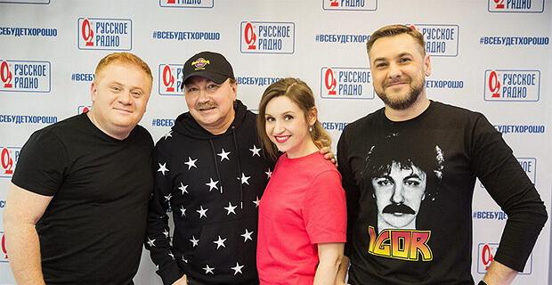 Игорь Николаев дал живой концерт в рамках «Золотого микрофона» на «Русском Радио» - Новости радио OnAir.ru