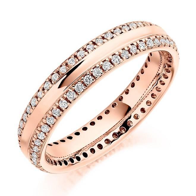 Full diamond eternity ring from Pobjoy Diamonds