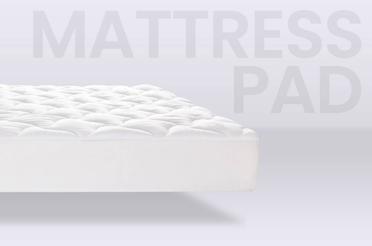 sleep zone bedding website store products collections dual protection mattress protector white mattress pad topper