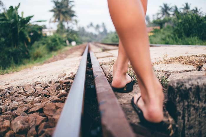 Flip Flops Can Change the Way You Walk
