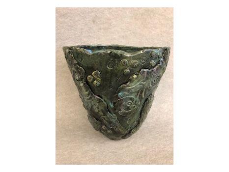 Ceramic Vase by T.C. Art Teacher, Beth Coast