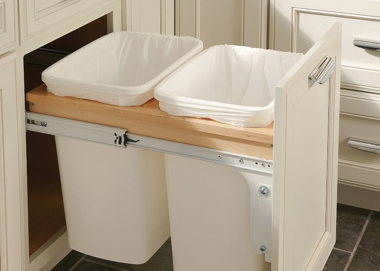Waste Basket/Recycling Cabinet