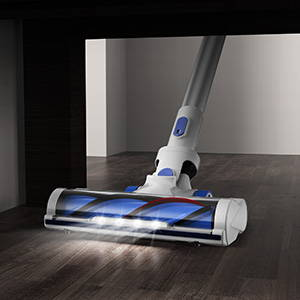 APOSEN Upgraded 3rd Cordless Vacuum Cleaner with LED lights for dust searching