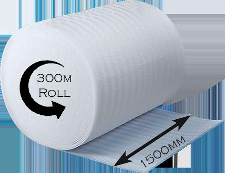 Small Bubble Wrap - 300mm x 100m