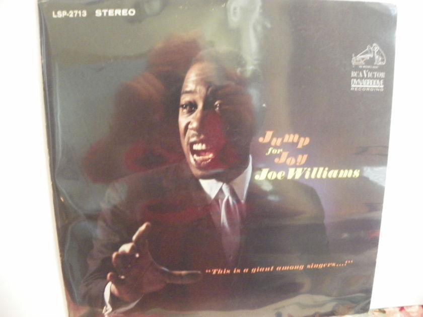JOE WILLIAMS - JUMP FOR JOY Vintage LP