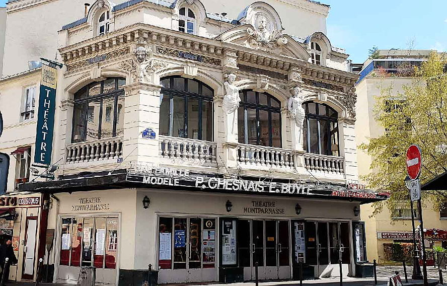 Paris - Immobilier Paris 14ème arrondissement - Theatre Montparnasse - Engel Volkers