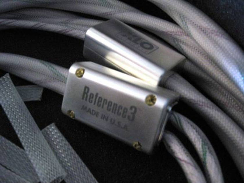 XLO Reference 3 Speaker Cable - 8 ft pair