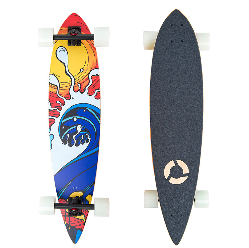 Wave longboard design
