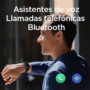 Amazfit GTR 2 - Hable con su reloj y a través de él. Función de llamada Bluetooth, asistentes de voz en línea y fuera de línea