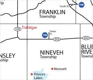 Trafalgar Branch Map