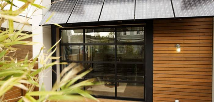 Modern Exterior Home with Solar